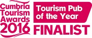Cumbria Tourism Awards 2016 - Tourism Pub of the Year Finalist